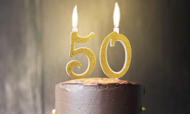 festa cinquantesimo compertina