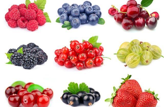 frutti di bosco proprietà