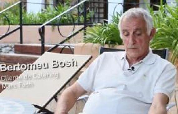 Video para la empresa Catering Marc Fosh, opinión de cliente