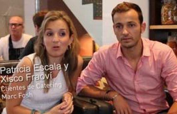 Video para la empresa Catering Marc Fosh, opinión de clientes