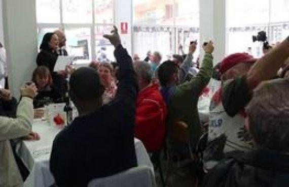 Video para la empresa Catering Marc Fosh, noticia sobre una comida solidaria