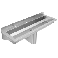 SANX180 Wall Mounted Wash Trough - Specialist sinks ...