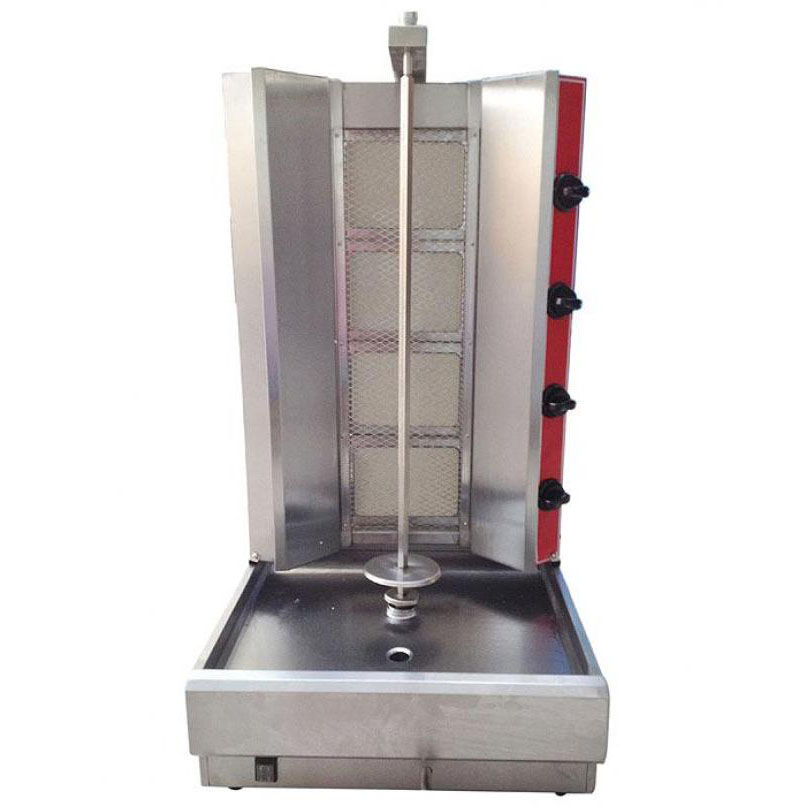 kitchen chairs on rollers contemporary table gas shwarma machines for sale | order online now - fast ...