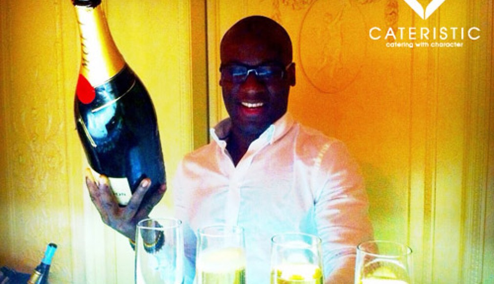 Sylvester in Hamburg: Gourmet Catering mit Champagner
