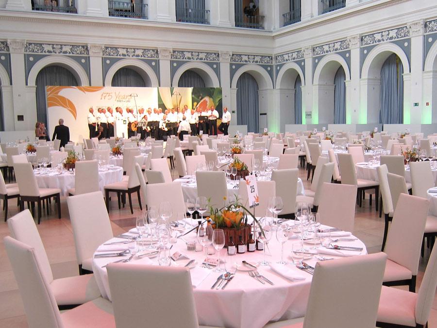 Shanty Chor zum Gala Dinner in der Hamburger Handelskammer