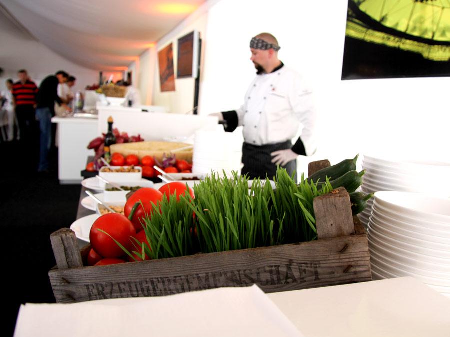 Regionales Catering zur VIP Hospitality am Hamburger Rothenbaum