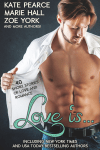 Ebook cover for Love Is... Anthology