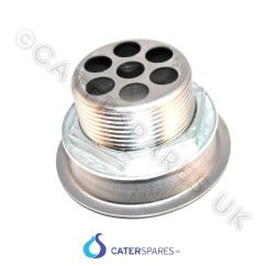 Kitchen Sink Plug Hole Fitting Range Waste Outlet For Stainless Steel Commercial ...