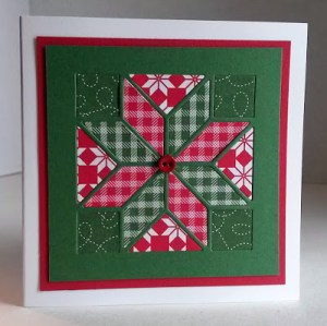 Quilted Holiday Card Workshop @ Cate's Sew Modern