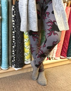 Make Your Own Leggings Workshop @ Cate's Sew Modern