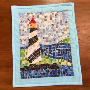 Friday Night Sip 'n' Sew: Mini Mosaic Quilt @ Cate's Sew Modern