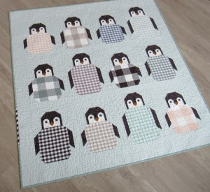 Penguin Party Quilt Workshop @ Cate's Sew Modern