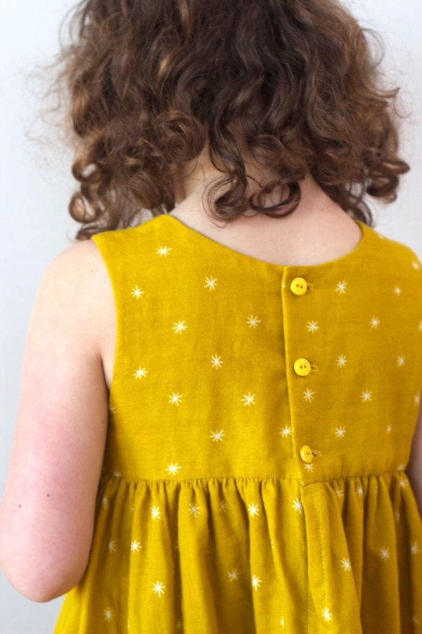 A+Jane+Austen+Geranium+Dress+in+Cotton+and+Steel+Double+Gauze+_+Willow+&+Stitch
