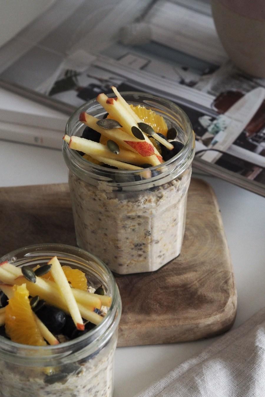 healthy eating: chia seed breakfast bowl recipe