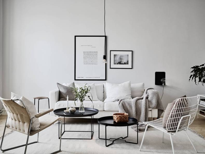 I wish I lived here: a light, calm living room