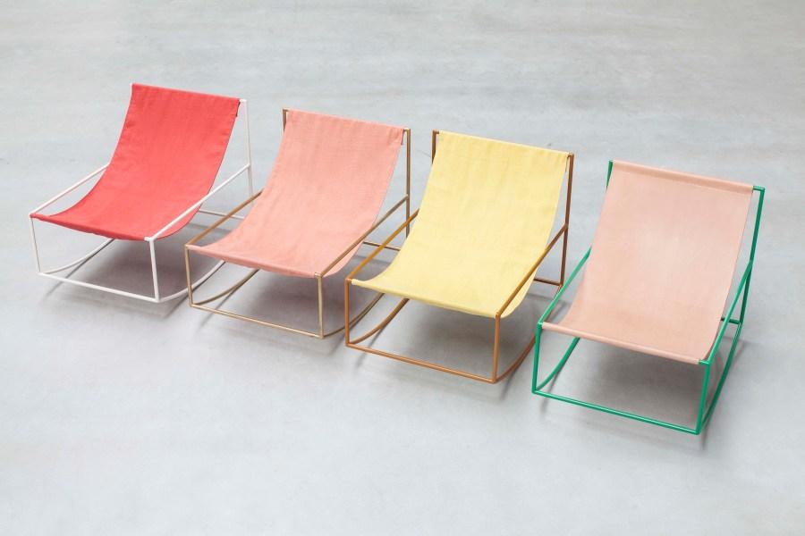 Rocking Chair by Muller Van Severen. Photo: Siska Vandecasteele