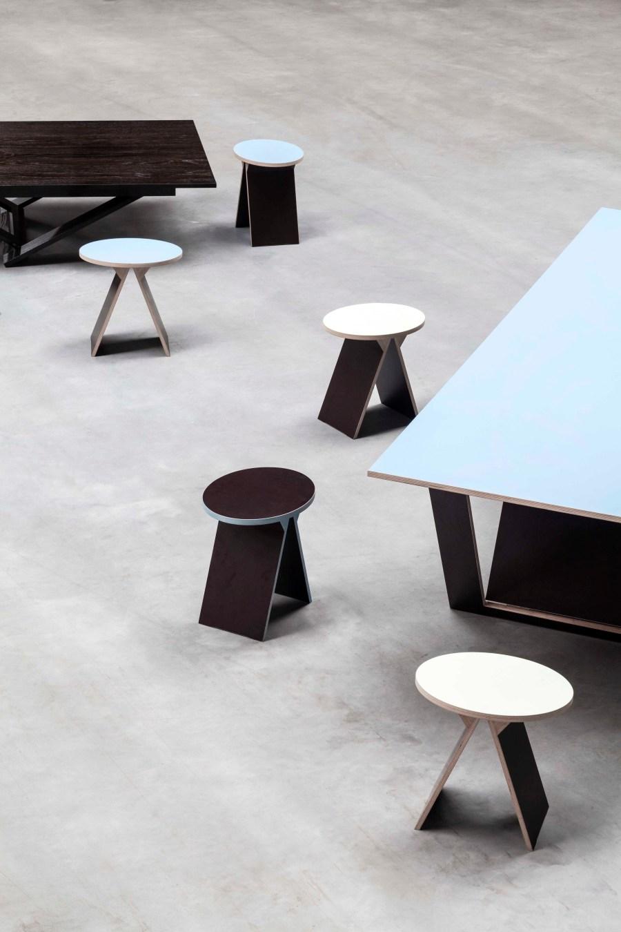 Robbrecht en Daem architecten furniture for Valerie Objects