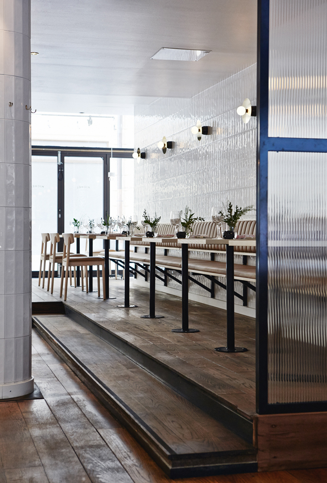 Michel restaurant, Helsinki by Joaana Laajisto