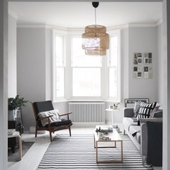 Living Room Design With Grey Walls White Yellow And Turquoise My Scandi Style Makeover Painted Floors Before After Light