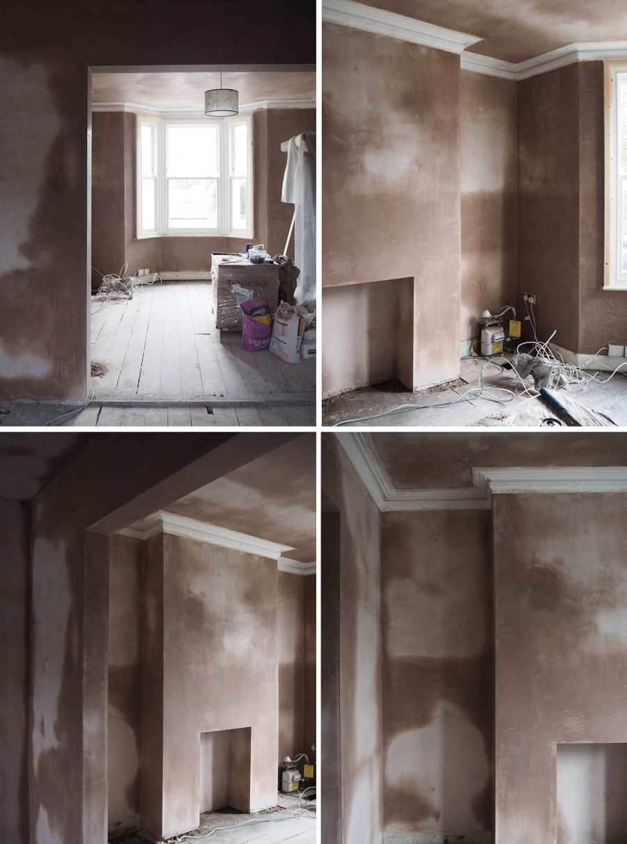 house renovation project - before and after makeover
