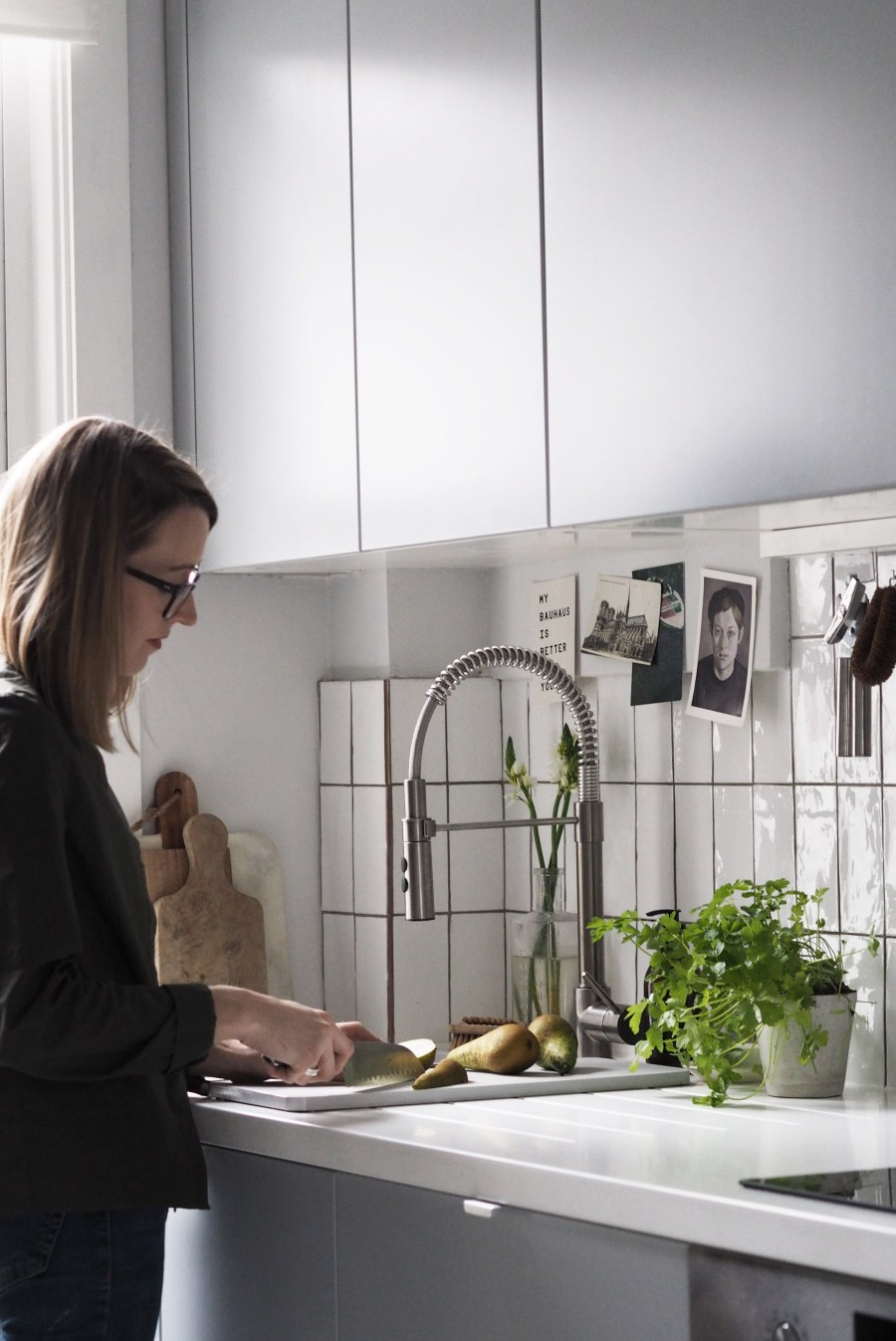 My Ikea Kitchen Makeover Part 2 Small Space Storage Solutions Everyday Details Cate St Hill