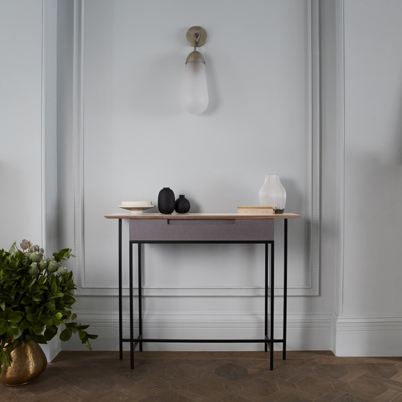 Refined industrial furniture designed and handmade in UK by MannMade