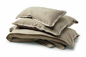 Manufactum Pillow Case Washed Linen Natural -12180