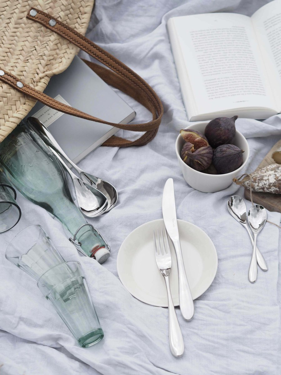 A relaxing summer picnic - uplift the everyday with Robert Welch cutlery