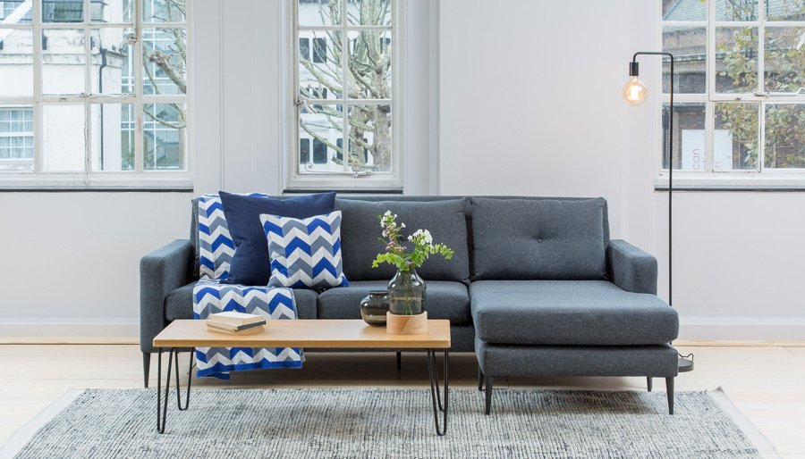 10 Of The Best Grey Corner Sofas - Cate St Hill