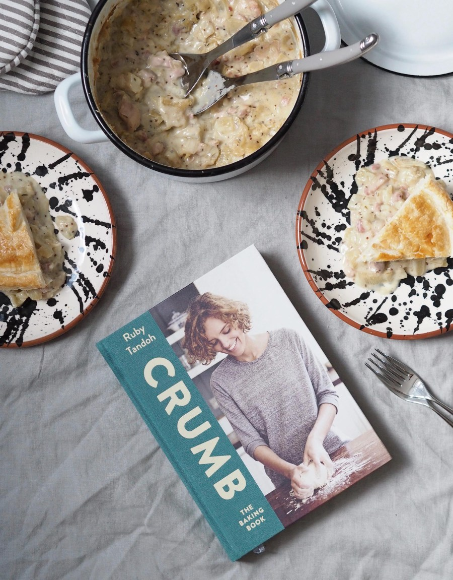 Chicken, fennel and ale pie recipe. Homesense finds: getting ready for Autumn with a heartwarming recipe