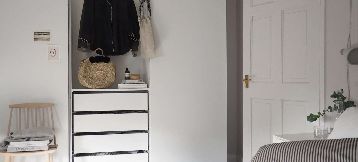 Bedroom Updates Getting Organised With Ikea Pax Wardrobes Cate St Hill