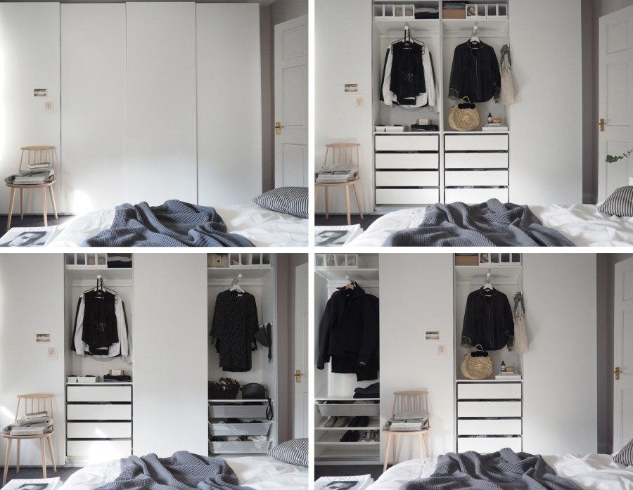 Planner Guardaroba Pax Ikea.Bedroom Updates Getting Organised With Ikea Pax Wardrobes Cate