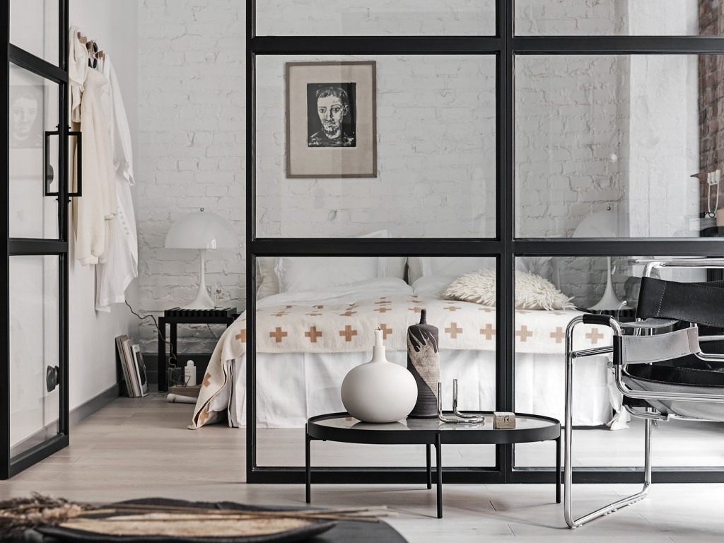 I wish I lived here: New York style loft with Crittall style windows
