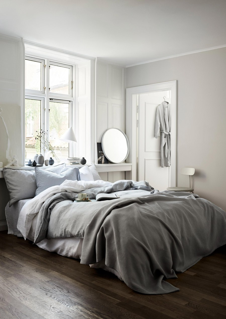 7 best places to buy pure linen bedding - Washed linen double duvet cover set, includes two pillowcases, £79.99, H&M Home