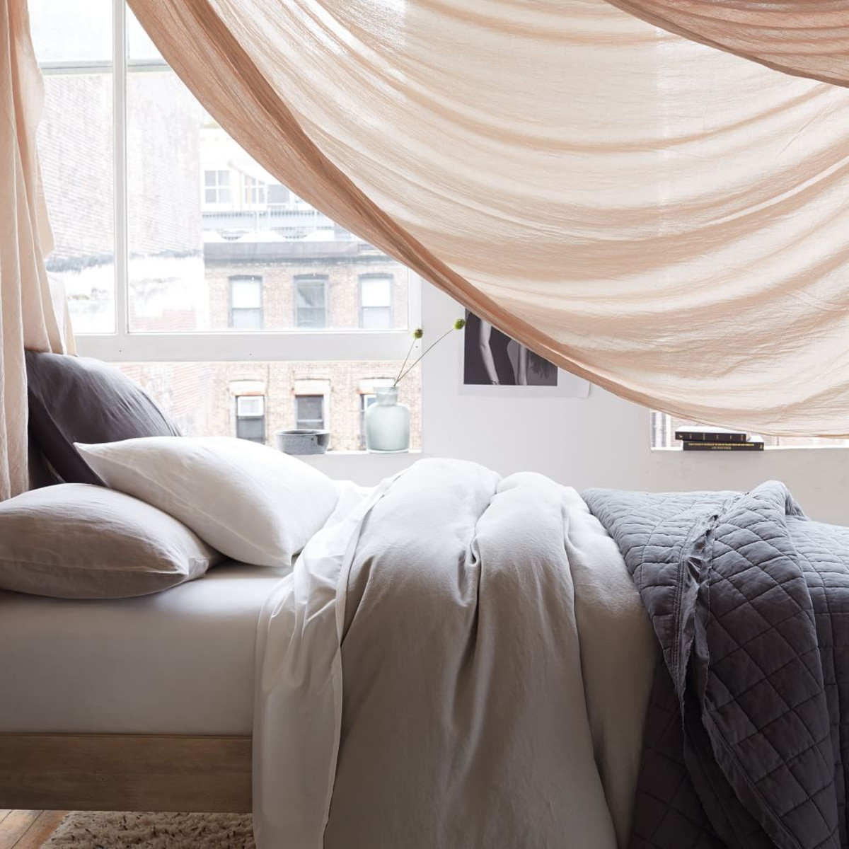 ... 7 Best Places To Buy Pure Linen Bedding   Belgian Flax Linen In Natural  Flax,