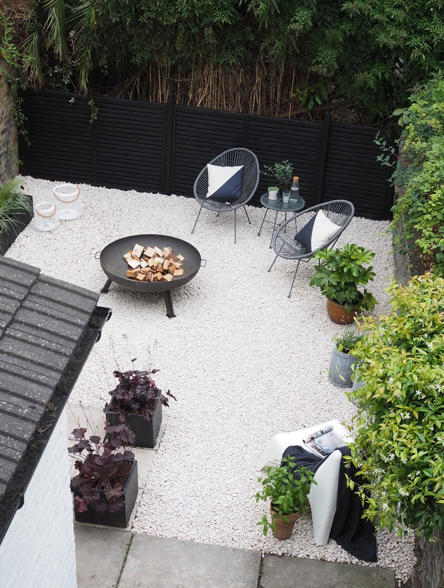 Before After My Contemporary Garden Makeover On A Budget
