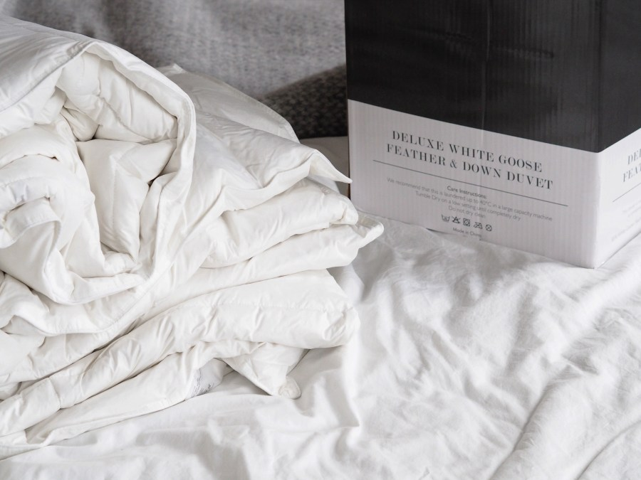 ad61e3940a1 ... Embracing Lagom and preparing the bedroom for winter with Homesense  AD