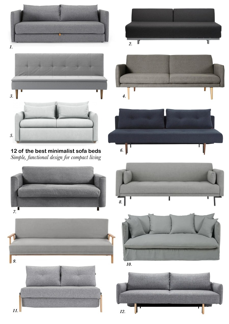 best of minimalist sofa beds for small spaces 1