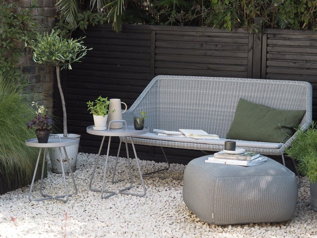[AD] An urban oasis with Cane-line minimalist outdoor furniture