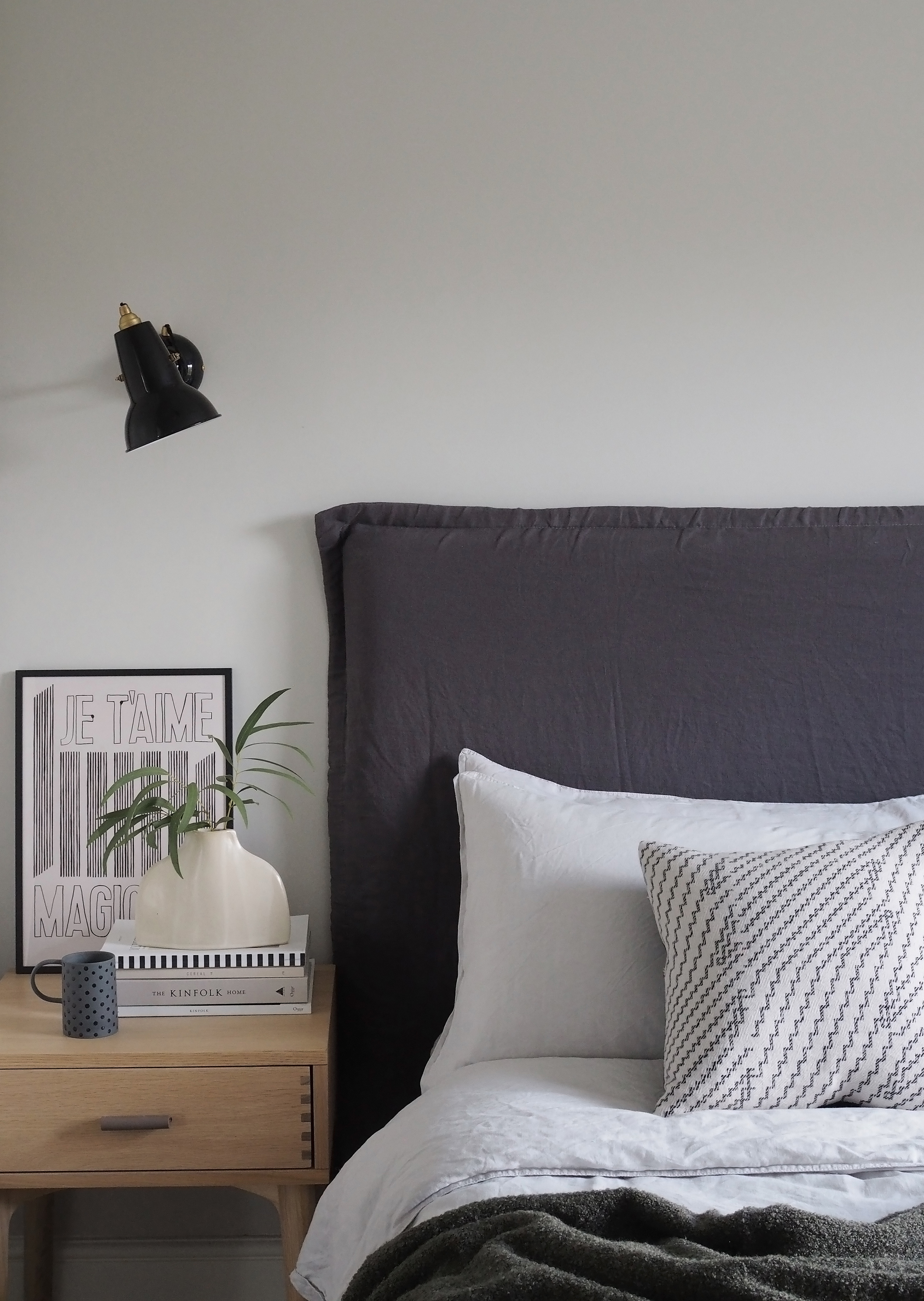 New Interior Project A Minimalist Monochrome Bedroom And