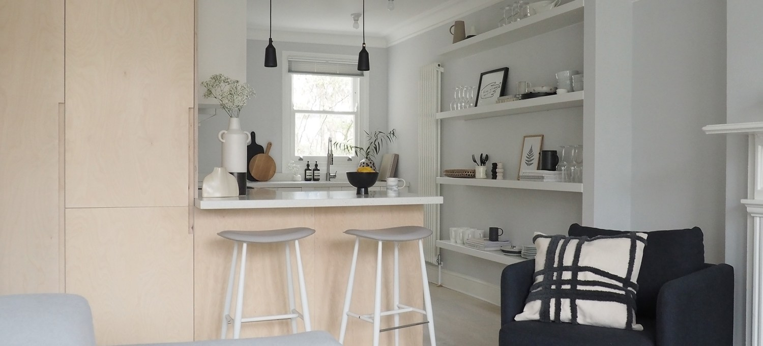 New interior project a light filled, minimalist kitchen and ...