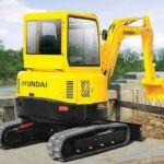 Hyundai Robex 75-7 Crawler Mini Excavator Workshop Repair Manual
