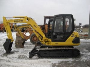 Komatsu PC25-1 PC30-7 PC40-7 PC45-1 Cat Excavator Workshop Service Repair Manual