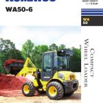 Komatsu WA50-6 Excavator Repair Workshop Manual