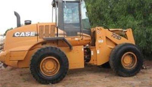 CASE 721D Excavator Service Repair Manual