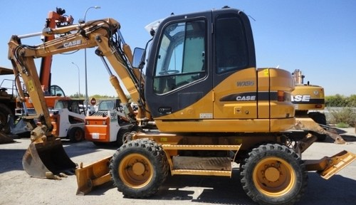 Case Wx95 Wx125 Wheel Excavator Service Repair Manual