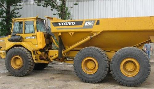 Volvo A25c Articulated Dump Truck Service Repair Manual