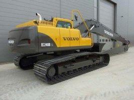 Volvo EC240B LR EC240BLR Cat Excavator Service Repair Manual