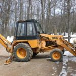 Case 480c Loader Backhoe Factory Operators Owner Manual