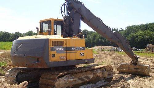 Volvo Akerman Ec150c Excavator Service Repair Manual